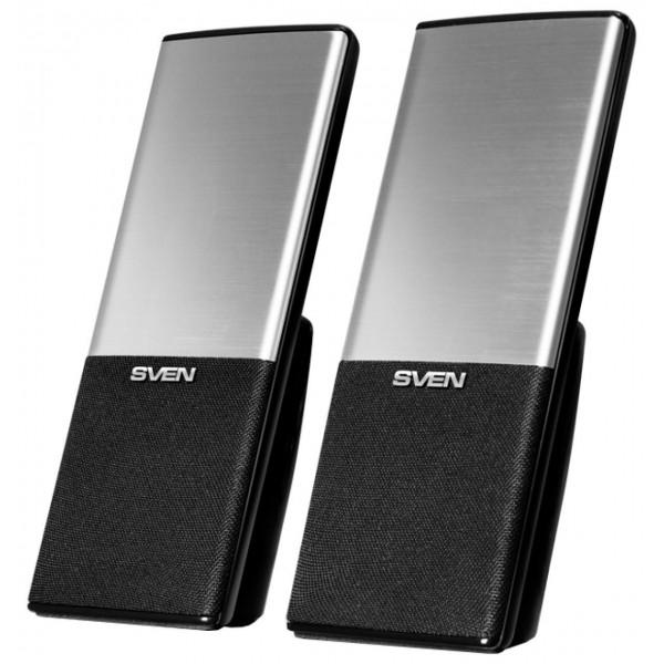 Динамик Sven Sven 249, чёрный, USB, акустическая система 2.0, мощность 2x2 Вт(...