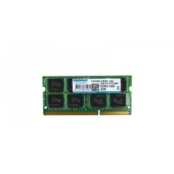 Оперативная память Kingmax  SODIMM DDR3 4Gb PC10600 1333MHz RTL