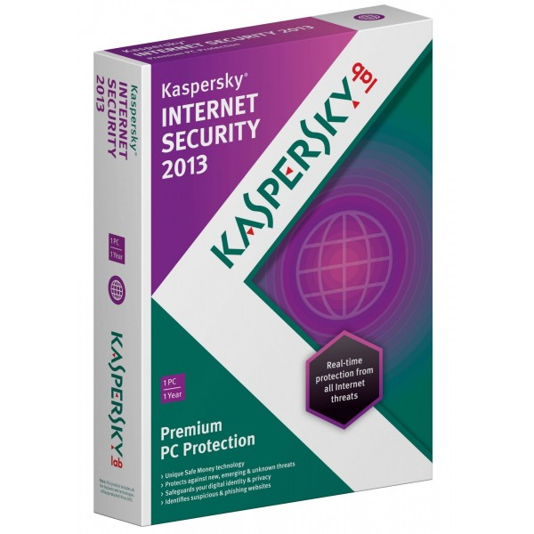 Антивирус Kaspersky Internet Security 2013 Russian Edition. 2-Desktop 1 year (продление)