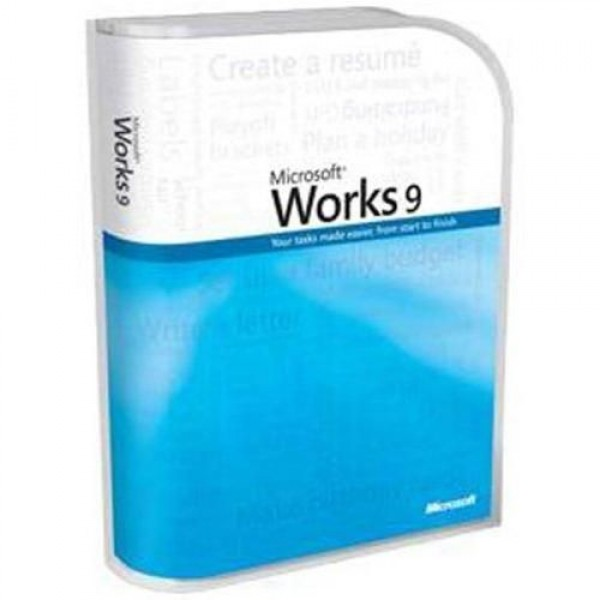 Works 9.0 Win32 Russian CD MS070-03568