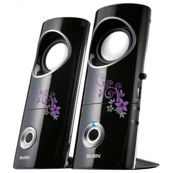 Звуковые колонки Sven 245 (4 Вт) USB чёрный