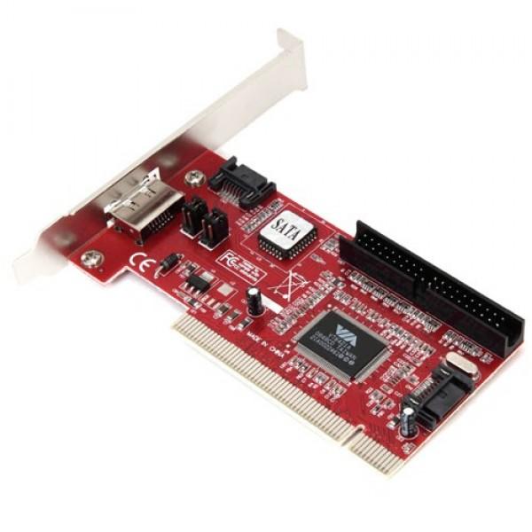 Контроллер * PCI SATA / IDE (3+1) port + RAID VIA6421 bulk