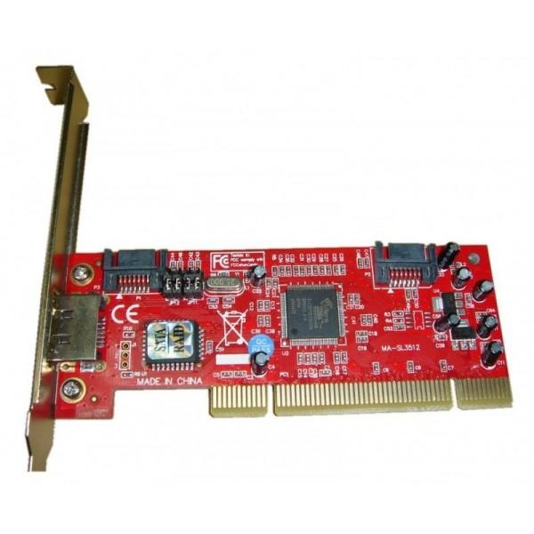 Контроллер PCI SATA (2+1)port +RAID SIL3512 bulk