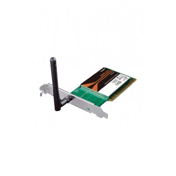 Беспроводной PCI адаптер D-link DWA-525 802.11n 150Mbps OEM