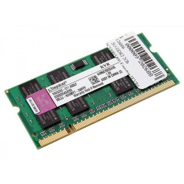 Оперативная памятьKingston DDR-III 2GB PC3-10600 1333MHz SO-DIMM