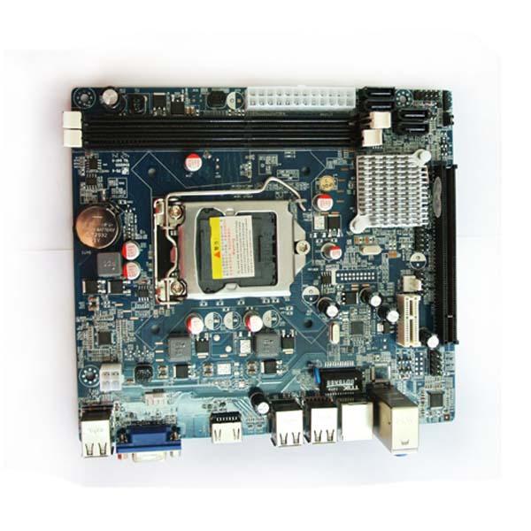 Материнская плата  ОЕМ Intel H61/1155/DDR3
