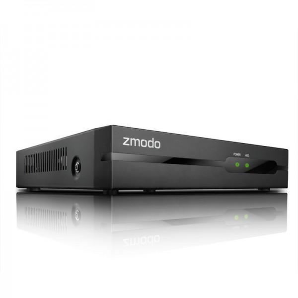 Комплект системы IP видеонаблюдения 4 Камеры 720р  All-in-One sPoE  NVR KIT ZP-KE1H04-S